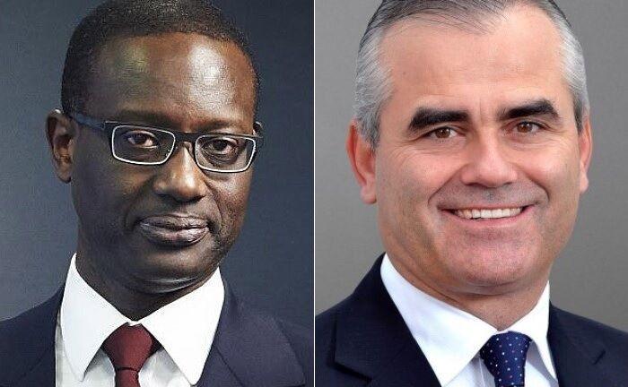 Vorgänger und Nachfolger: Tidjane Thiam (l.) und Thomas Gottstein. |© Credit Suisse