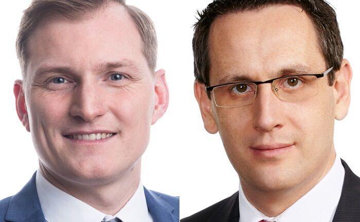 Roland Buge (r.) und Jan Schulz gehören zum Berliner Fondsteam der Kanzlei P+P Pöllath + Partners.|© P+P Pöllath + Partners