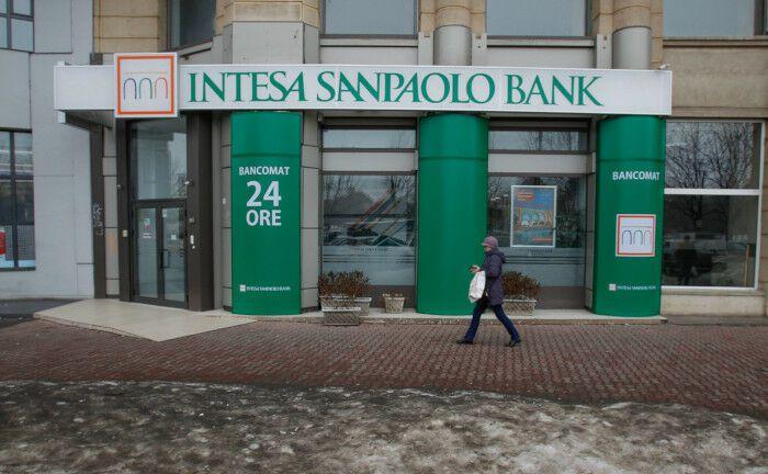 Eine Filiale der Intesa Sanpaolo: Zu dem gleichnamigen italienischen Finanzkonzern gehört nun auch ein Asset Manager für alternative Anlagen.
