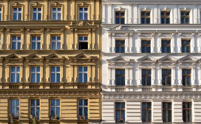 Wohnhäuser im Berliner Stadtteil Prenzlauer Berg: Wohnimmobilien gehöhren nach Bürogebäuden zu den beliebtesten Investitionsobjekten von Family Offices.
