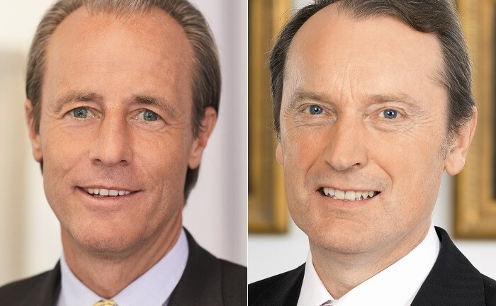 Hendrik Riehmer (l.) und Hans-Walter Peters|© Berenberg Bank