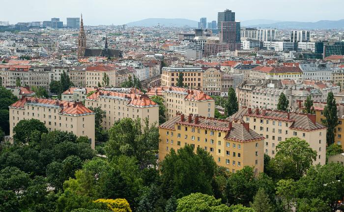 Blick auf Wien vom Prater Riesenrad: In der österreichischen Hauptstadt gibt es ein neues Multi Family Office.|© imago images / Olaf Schuelke