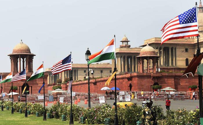 Vorbereitungen für den Besuch von Donald Trump in Neu-Delhi: Die fünftgrößte Volkswirtschaft der Welt setzt auf zukunftsweisende Reformen.