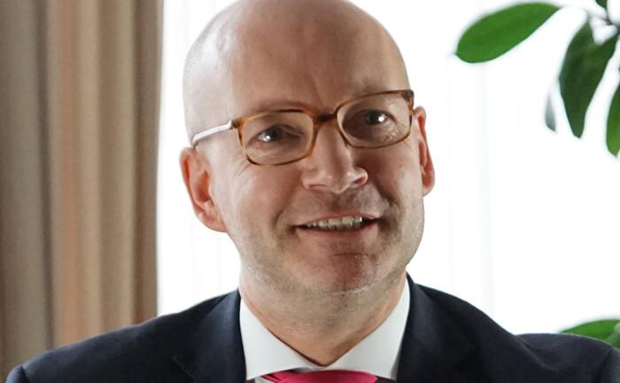 Stefan Reinhardt ist beim Versicherungsmakler Leue & Nill leitender Handlungsbevollmächtigter am Hauptsitz in Dortmund.|© Leue & Nill