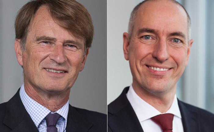 Christophe Braouet (li.) geht Ende März 2020 in den Vorruhestand. Seine Aufgaben übernimmt Thomas Leicher.