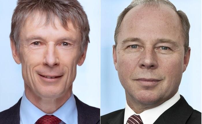 Reiner Dietz (l.) und Michael Heise