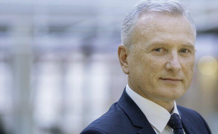 André Heimrich leitet im fünfköpfigen Vorstand der BVK den Bereich Kapitalanlagen. Die Immobilienquote der BVK liegt nach vielen Zukäufen inzwischen bei 30 Prozent.