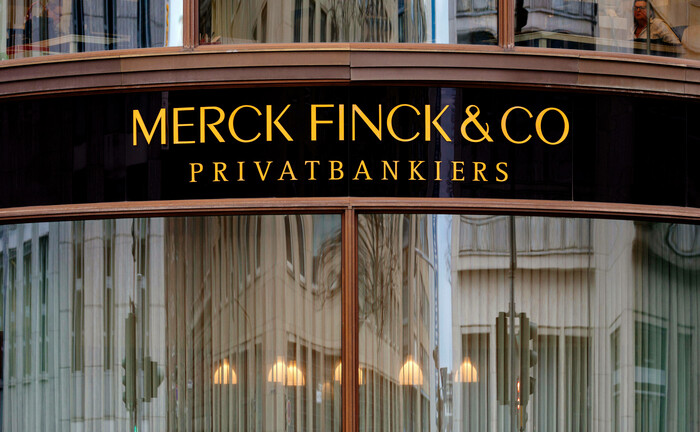 Merck-Finck-Filiale in der Kölner Innenstadt: Die Muttergesellschaft der Privatbank plant offenbar Zentralisierungspläne.
