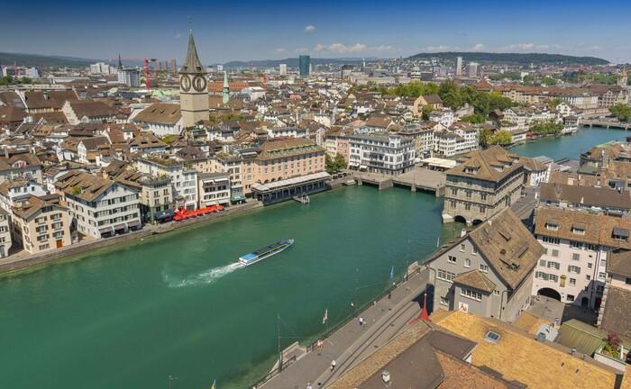 Blick auf Zürich: In der Schweizer Finanzmetropole räumt die Länderchefin der Quintet Private Bank aus freien Stücken ihren Posten.