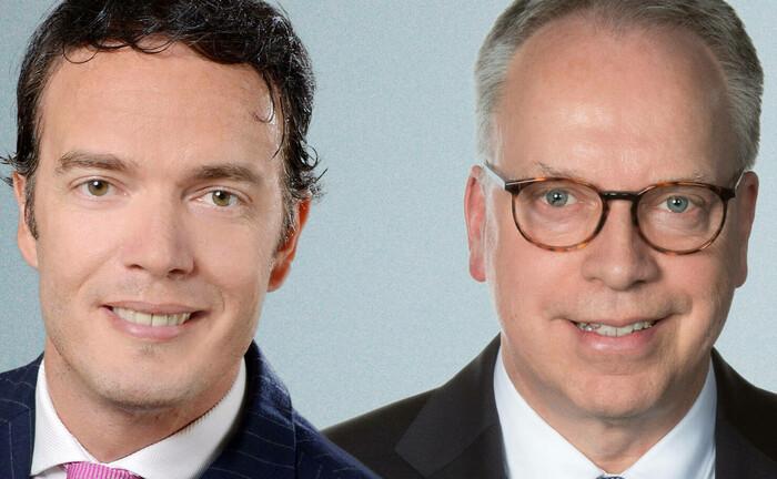 Thomas Schemken (r.) und Rocco Schramm schließen sich im April als Senior-Partner der Deutschen Wertpapiertreuhand an.|© DWPT