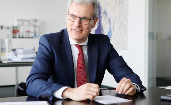 Thomas Mann ist seit 2009 Mitglied der Geschäftsführung der Ampega Asset Management und als Investmentchef für das Vermögen der Talanx verantwortlich.
