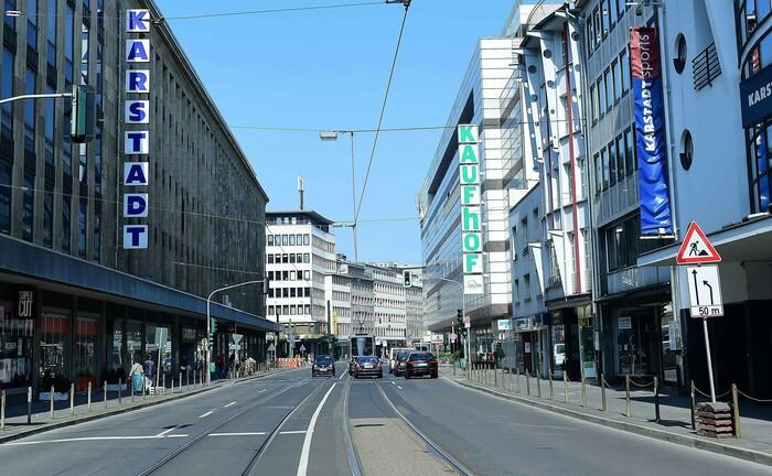 Opfer der Corona-Krise: Die Kaufhauskette Galeria Karstadt Kaufhof hatte zwischenzeitlich Staatshilfen beantragt.|© imago images / Revierfoto