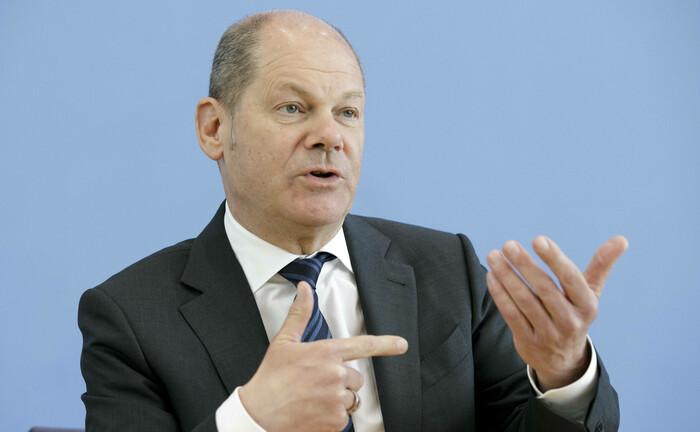 Vizekanzler und Finanzminister Olaf Scholz: Das Bundesfinanzministerium greift gemeinnützigen Organisationen in der Corona-Krise unter die Arme.