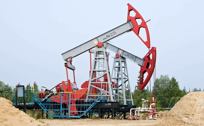 Ölförderung bei Archangelsk in Nordwestrussland: Einer Einigung über die Drosselung der Fördermenge hatte sich Russland lange widersetzt.