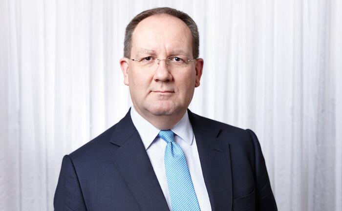 Interview im Homeoffice: Bafin-Präsident Felix Hufeld.