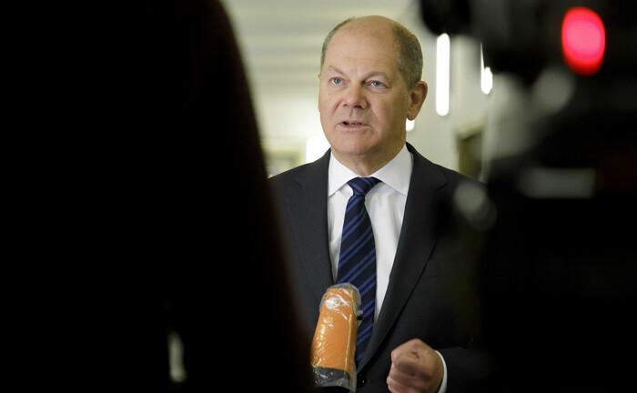 Olaf Scholz: Der Bundesfinanzminister hält eine sogenannten