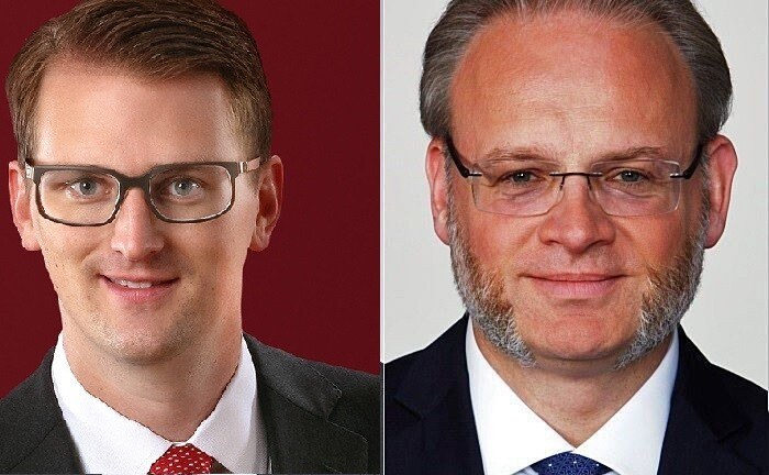 Jörgchristian Klette (r.) und Christian Roth arbeiten im Bereich Private Client Services Tax bei EY.