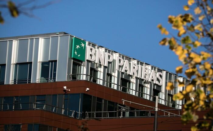 Ein Bürohaus von BNP Paribas Securities Services: Die Depotbank strafft mit Hilfe von Blackrock ihre Wertpapierprozesse.