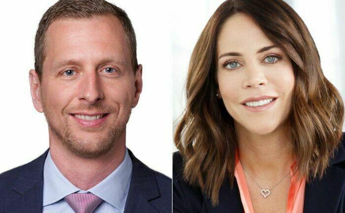 Stefan Kargl und Melanie Kühlborn-Ebach, beide LMM Investment Controlling