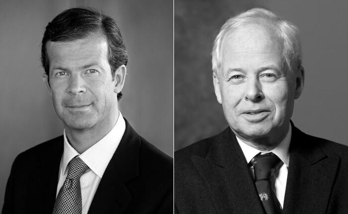 Ab 2021: Der bisherige Gruppenchef Prinz Max von und zu Liechtenstein (l.) wird Verwaltungsratspräsident der drei eigenständigen LGT-Unternehmen. Prinz Philipp von und zu Liechtenstein tritt altersbedingt als Präsident der Gruppe zurück.|© LGT