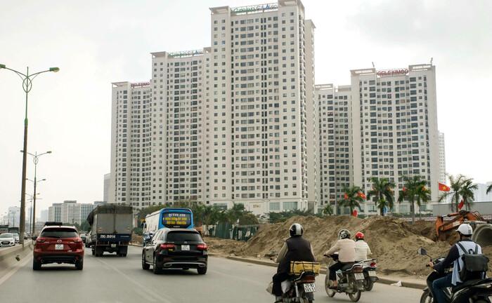 Neubauten in Hanoi, Vietnam: Die Kreditqualität von Schwellenländer-Anleihen hat sich im Laufe der Jahre erhöht.|© imago images / Friedrich Stark