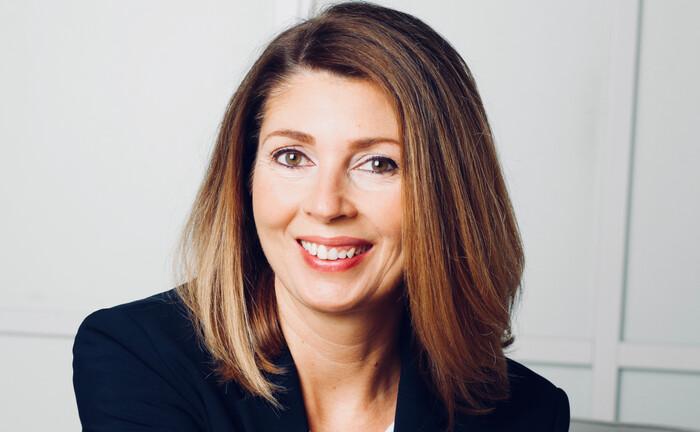 Anja Dittmar leitet als Niederlassungsleiterin das Privat- und Firmenkundengeschäft der Commerzbank in Bad Homburg.|© Commerzbank