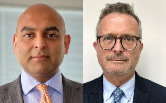 Zwei neue Geschäftsführer: Prashant Sharma (li.) und Michael Bös arbeiten ab 1. Juli 2020 für die Meag.