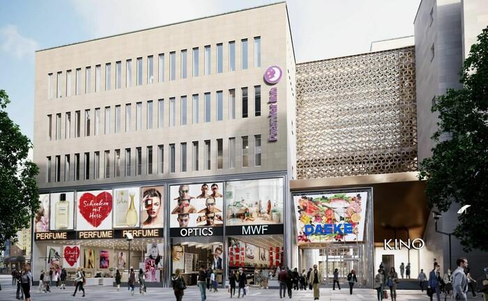 Gehört zum Bestand des Spezialfonds CBD: Immobilien an der Dresdner Flaniermeile Prager Straße.|© Values Real Estate