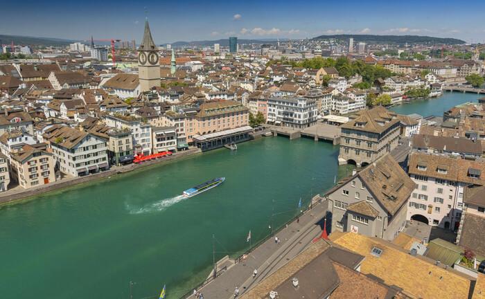 Blick auf Zürich: Vontobel Wealth Management hat vor Ort sein Beraterteam ausgebaut.
