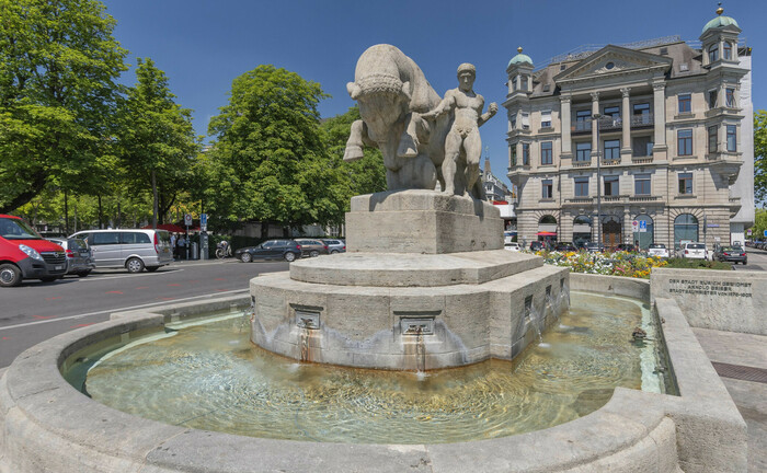 Burkliplatz in Zürich: Ganz in der Nähe hat der Schweizer Vermögensverwalter Belvoir Capital seinen Sitz.|© imago images / BE&W