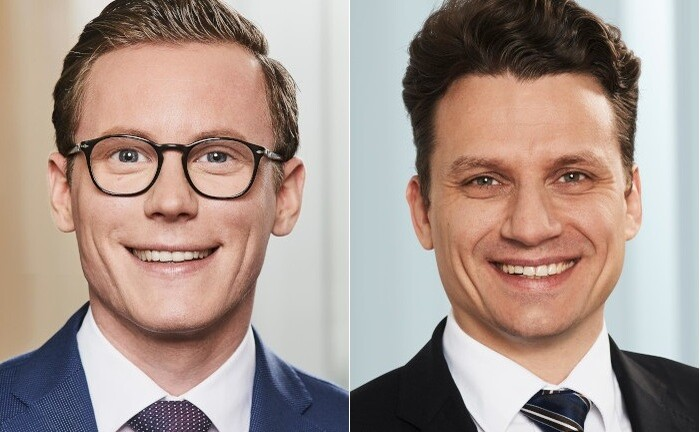 Boris Niekammer (l.) leitet künftig das Wealth Planning des Family Office der Frankfurter Bankgesellschaft. Wealth Planner Norman Traeger schließt sich ebenfalls dem Multi Family Office an.