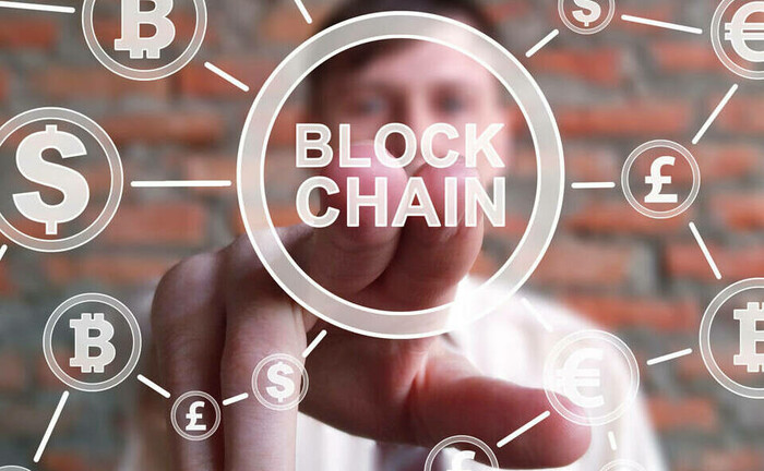 Eine Blockchain ist eine kontinuierlich erweiterbare Liste von Datensätzen. Die Blockchain-Technologie kann auch im Wertpapierhandel eingesetzt werden.|© imago images / ZUMA Press