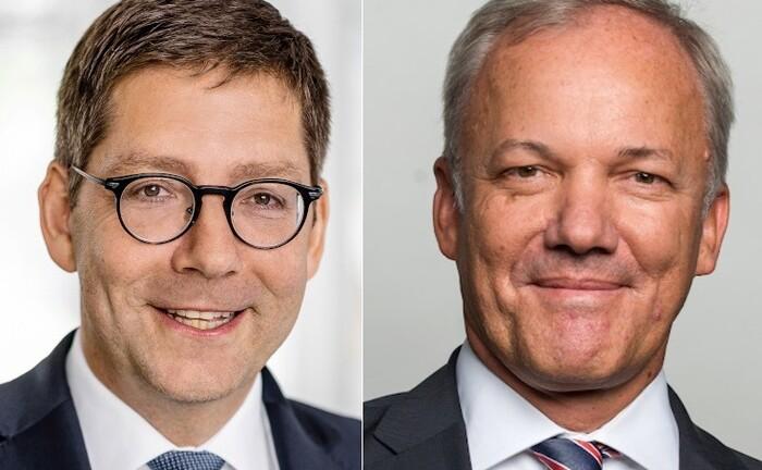 Jan Viebig (l.), zuletzt Leiter Asset Management bei Hauck & Aufhäuser, folgt auf Kai Franke als Geschäftsführer von Oddo BHF Trust.