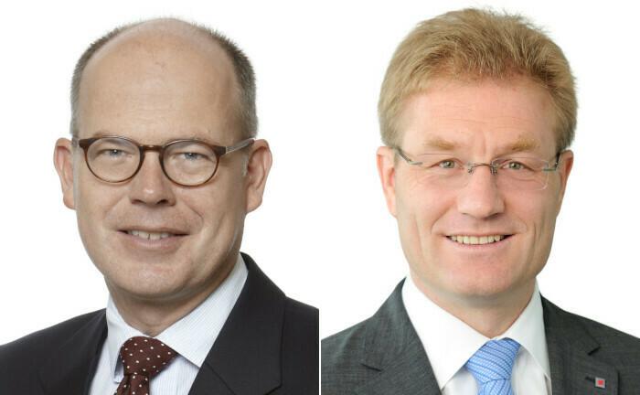 Der alte und der neue Finanzchef: Immo Querner (li.) und Jan Wicke.