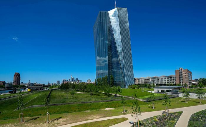 Das Hauptquartier der Europäischen Zentralbank in Frankfurt am Main. In der Bankenmetropole residiert auch die junge Anlagegesellschaft Max Alpha Asset Management.