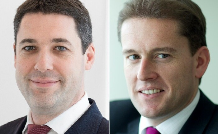 Alain Caffort (l.) und Cyril Benier leiten das Genfer Managementteam des Aktienfonds Pictet-Family.