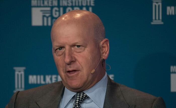 Goldman-Sachs-Chef David Solomon auf einer Konferenz in Kalifornien