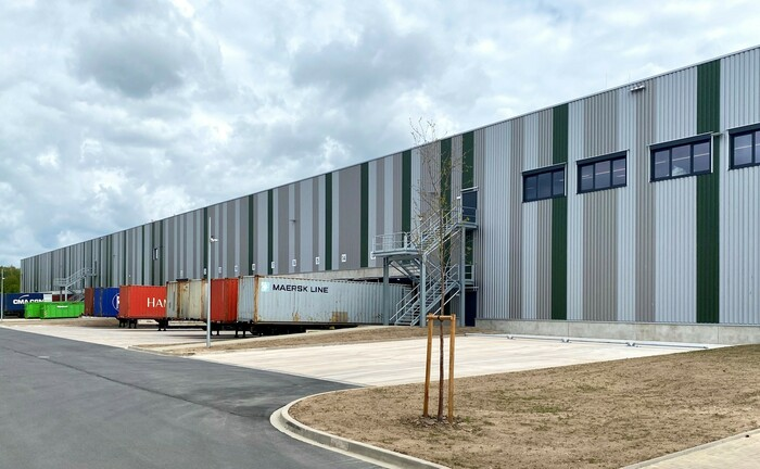 Das jüngst Investitionsobjekt des Vorgänger-Fonds LIP Logistics Germany II: Ein Logistikimmobilien-Neubau bei Bremen