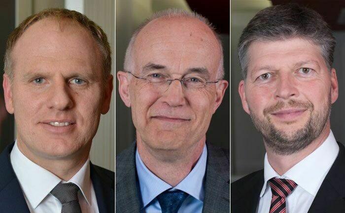 Michael Georgi, Jochen Prawitt und Rolf Kiekebusch (v.l.n.r.): Der dreiköpfige Vorstand der Kirix Vermögensverwaltung will das Team in Göttingen verstärken.
