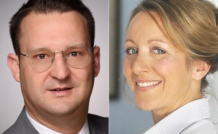 Bernd Vogt und Marion Paroli sind bei Wealthcap zuständig für die ESG-konforme Strategie und das Scoring auf der Produkt-und Investmentebene.