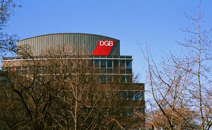 Hauptsitz des DGB am Henriette-Herz-Platz in Berlin: Der Gewerkschaftsbund sucht einen Verantwortlichen für die Unterstützungskasse