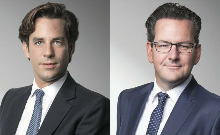 Zwei Beförderungen bei Reyl & Cie: Thomas Fontaine (li.) und Michael Welti. |© Reyl & Cie