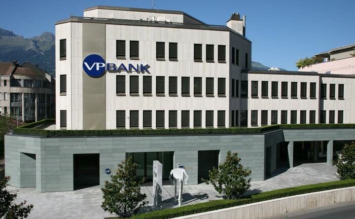 Sitz der Liechtenteiner VP Bank in Vaduz.