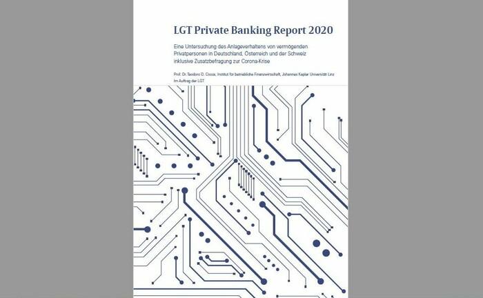 Deckblatt der 2020er Auflage des LGT Private Banking Report: Die Erhebung erscheint seit 2010 alle zwei Jahre.