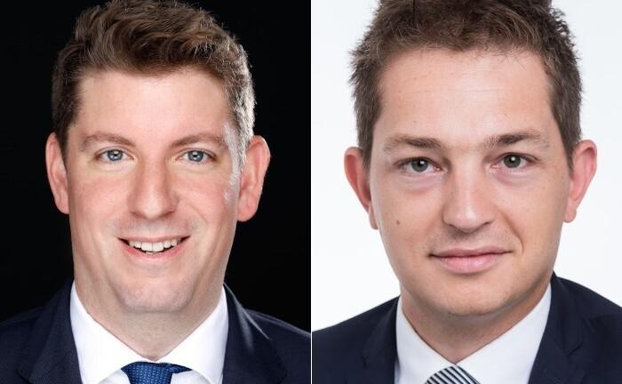 Martin Fechtner (l.) und Patrick Suck kümmern sich bei Oddo BHF Trust unter anderem um das Management der Polaris-Fondsfamilie.