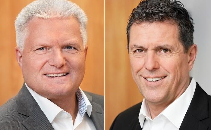 Das Geschäftsführer-Duo Klaus Haller (l.) und Robert Malterer leitet die Geschicke bei Das Wertehaus Vermögensverwaltung.
