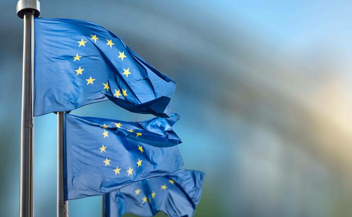 EU-Flaggen in Brüssel: Spätestens jetzt ist auch für den Mainstream der Investoren klar: Die Zinsen müssen niedrig bleiben.