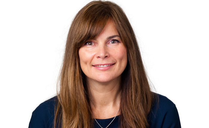 Harriet Steel, Leiterin der internationalen Geschäftsentwicklung von Federated Hermes.