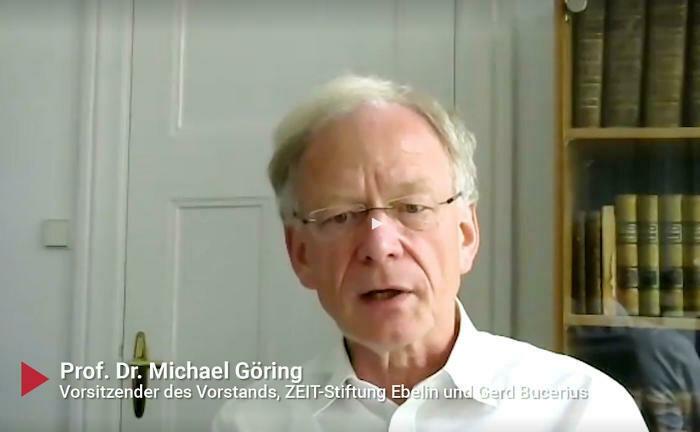 Michael Göring, Vorstandschef der Zeit-Stiftung Ebelin und Gerd Bucerius, im Gespräch: Auch Stiftungen müssen Geld zweckgebunden verwenden.
