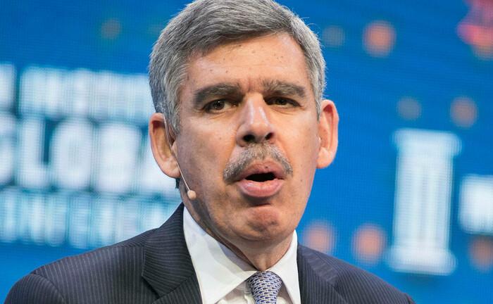 Mohamed El-Erian spricht im März 2020 auf einer Konferenz in Kalifornien: Der Allianz-Chefökonom hat eine weitere Aufgabe bei einer Investmentboutique übernommen.